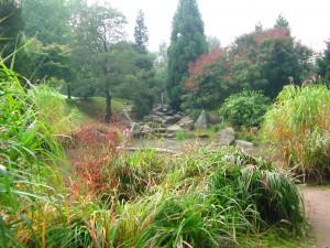 Der Japanische Garten im Moerser Schlosspark